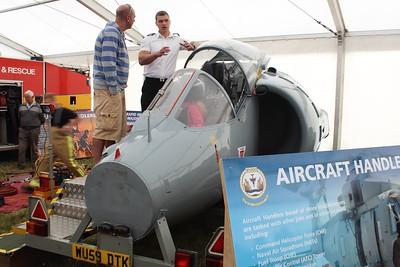 XV786 / 123 Hawker Siddeley Harrier @ RNAS Culdrose 30.07.15