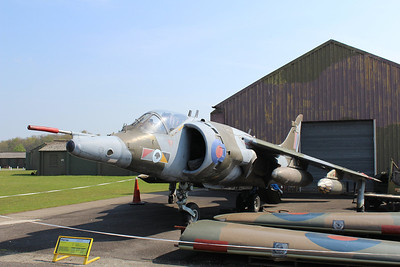 XV748 Hawker Siddeley Harrier GR3 @ Yorkshire Air Museum 21.04.14