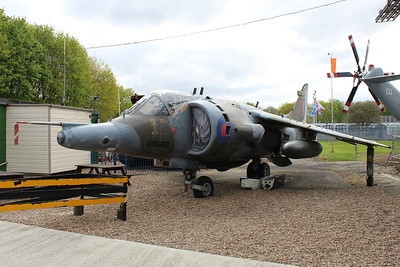 XV752 Hawker Siddeley Harrier GR3 @ South Yorkshire Aircraft Museum 19.04.14