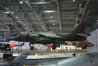 XZ133 / 10 Hawker Siddeley Harrier GR3 @ Duxford 08.09.12
