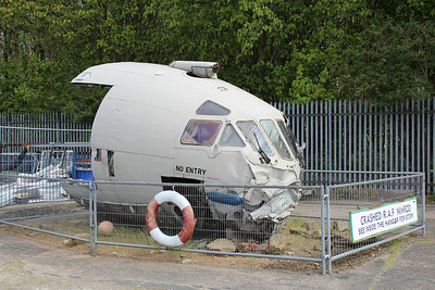 XW666 Nimrod R1 @ South Yorkshire Aircraft Museum 19.04.14