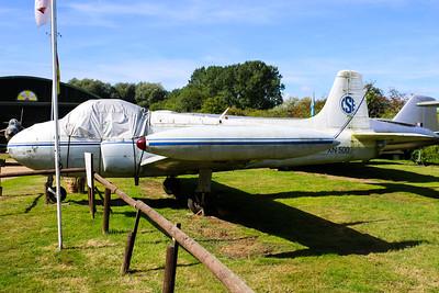 XN500 Hunting Jet Provost T3A @ Norfolk & Suffolk Aviation Museum 11.09.16