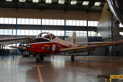 XW433 / G-JPRO BAC Jet Provost T.5A @ Classic Air Force Museum 27.06.13