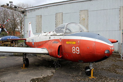 XM350 / 89 Hunting Jet Provost T3A @ South Yorkshire Aircraft Museum 19.04.14