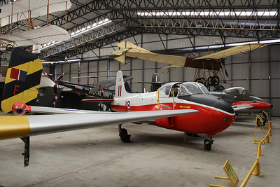 XP640 / M Hunting Jet Provost T4 @ Yorkshire Air Museum 21.04.14