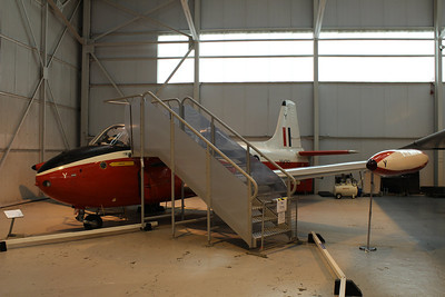 XM351 / Y Hunting Percival Jet Provost T3 @ RAF Museum Cosford 24.09.13