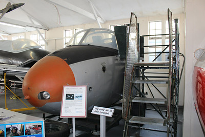 XM411 Hunting Jet Provost T3 @ South Yorkshire Aircraft Museum 19.04.14