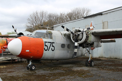 WF122 / 575 Hunting Sea Prince @ South Yorkshire Aircraft Museum 19.04.14
