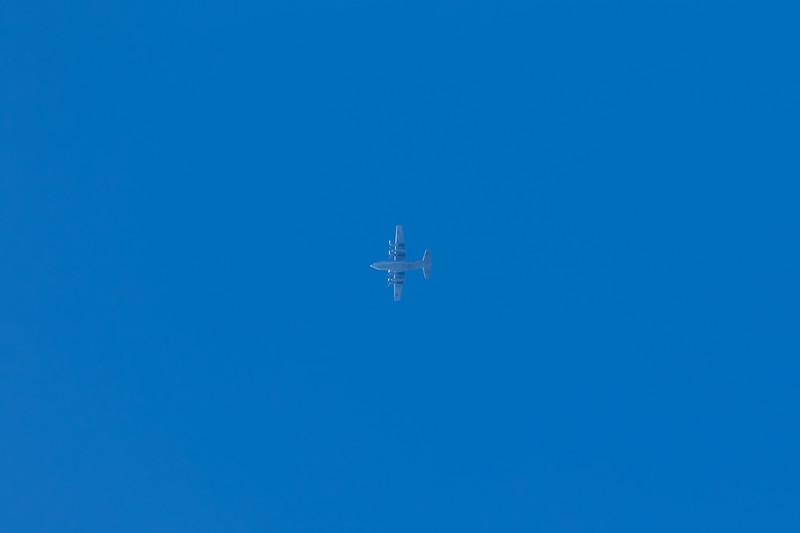 165314 Lockheed Martin KC-130T over Devon 05.11.16