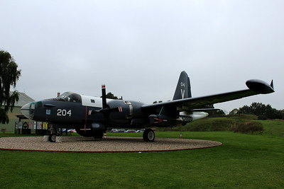 204 Lockheed P-2H Neptune from The Koninklijke Marine (Royal Netherlands Navy) on display @ RAF Museum Cosford 24.09.13