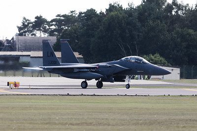 00-3001 McDonnell Douglas F-15E Strike Eagle  @ RAF Lakenheath 12.09.16
