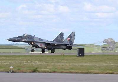 114 Mikoyan MiG-29 9.12A Fulcrum-A Polish Air Force @ RNAS Culdrose 30.07.15