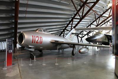 1120 WSK Lim-2 (MiG-15bis) Polish Air Force @ RAF Museum Cosford 24.09.13