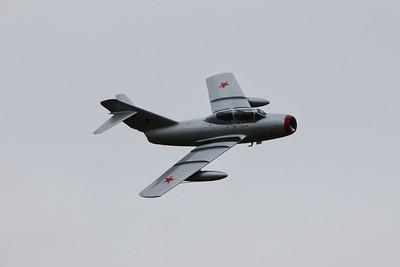 18r SB Lim-2 (MiG-15UTI) Norwegian Air Force @ RAF Cosford 19.06.16