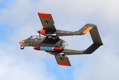 99+18 North American OV-10B Bronco @ RNAS Culdrose 30.07.15