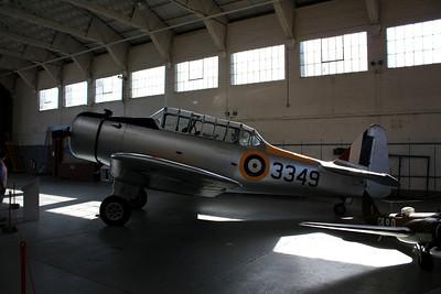 3349 North American NA-64 Yale 1 G-BYNF @ Duxford 08.09.12