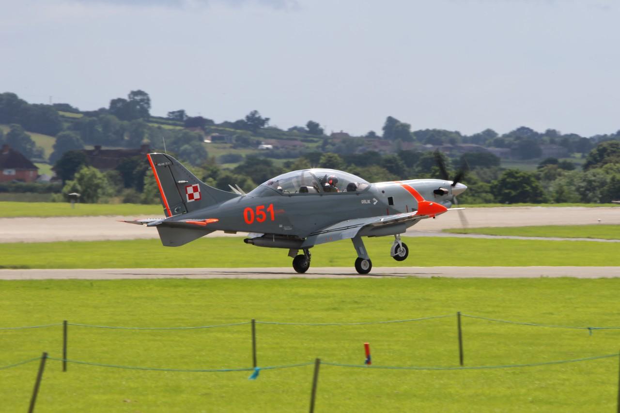 051 PZL 130TC-II Orlik Polish Air Force @ RNAS Yeovilton 02.07.16