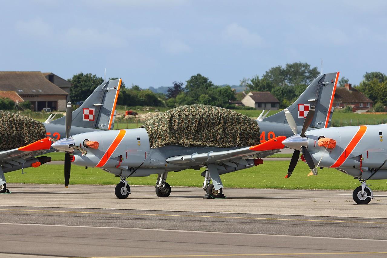 049 PZL 130TC-I Orlik Polish Air Force @ RNAS Yeovilton 02.07.16