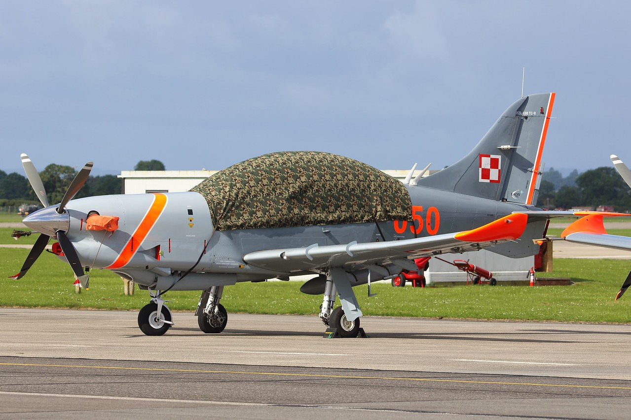 050 PZL 130TC-II Orlik Polish Air Force @ RNAS Yeovilton 02.07.16