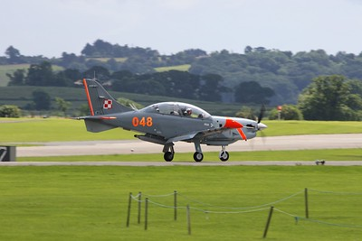 048 PZL 130TC-II Orlik Polish Air Force @ RNAS Yeovilton 02.07.16
