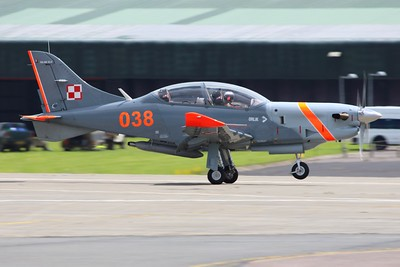 038 PZL 130TC-II Orlik Polish Air Force @ RNAS Yeovilton 02.07.16