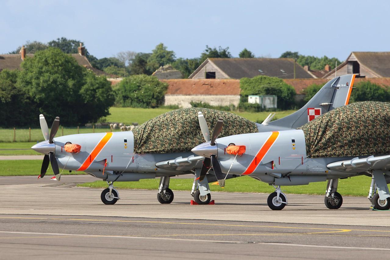 048 PZL 130TC-II Orlik Polish Air Force @ RNAS Yeovilton 02.07.16