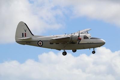 WV740 Percival Pembroke C1 @ RNAS Culdrose 29.07.15