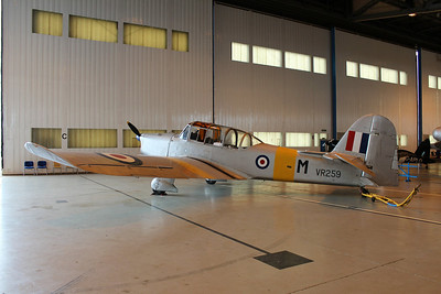 VR259 / G-APJB Percival Prentice @ Classic Air Force Museum 27.06.13