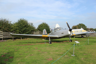 VS623 Percival Prentice T1 @ Midland Air Museum 24.09.13
