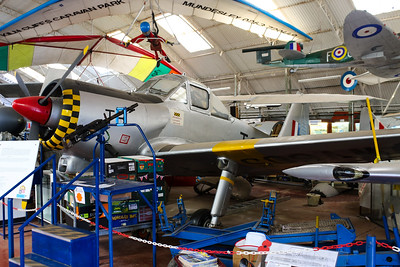 WV605 Percival Provost T1 @ Norfolk & Suffolk Aviation Museum 11.09.16