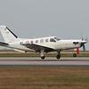 93 / XL SOCATA TBM 700A @ Newquay Airport 21.04.16