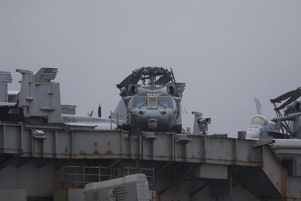 "167892 / AJ-622 / HSC-9 ""Tridents"" United States Navy Sikorsky MH-60S Knighthawk on USS George H W Bush CVN 77 27.09.17"