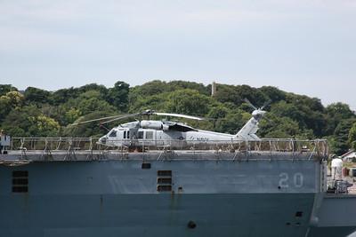 166322 / BR-41 MH-60S Knighthawk aboard USS Mount Whitney 19.07.10