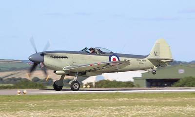 SX336 Supermarine Seafire F17 @ RNAS Culdrose 30.07.15