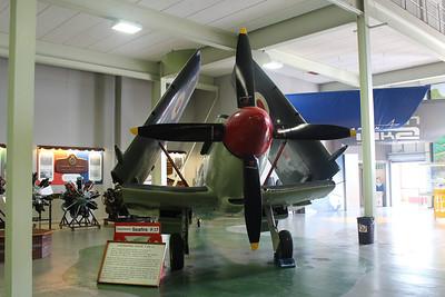 SX137 Supermarine Seafire F17 @ Fleet Air Arm Museum 30.05.14