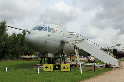 XV108 Vickers VC10 C1K @ East Midlands Airport 31.07.14