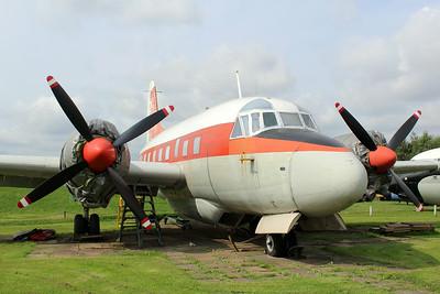 WL626 Vickers Varsity T1 @ East Midlands Aeropark 31.07.14