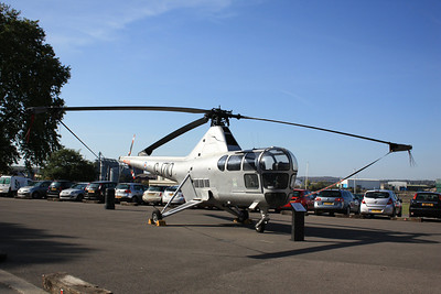 WG751 / GC710 Westland Dragonfly HR3 on display @ Chatham Historic Dockyard 14.10.11