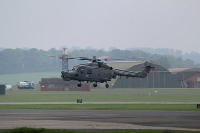 XZ723 / 672 Westland Lynx HMA8 @ RNAS Yeovilton 30.05.14