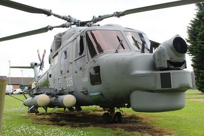 XZ728 / 326 Westland Lynx HMA8 Gate Guardian @ RNAS Yeovilton 30.05.14