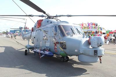 XZ725 / 337 Westland Lynx HMA8SRU @ RNAS Yeovilton 11.07.15