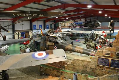 XX153 Westland Lynx AH1 @ Army Air Corps Museum 10.07.13