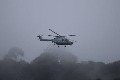 XZ691 / 310 Westland Lynx HMA8SRU - On a Nav Exercise passing around Plymouth 02.09.16