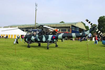 XT787 / G-KAXT Westland Wasp HAS1 @ RAF Cosford 19.06.16