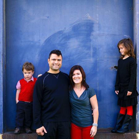 Thompson Family :: Abe, Julie, Hannah, Bram