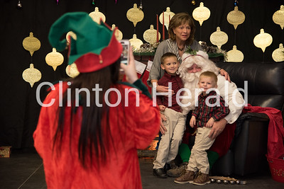 Milk and Cookies with Santa 11-26-16