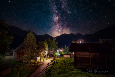 The Bernese Alps & the Milky Way
