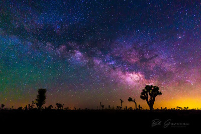 Milky Way and the Horizon