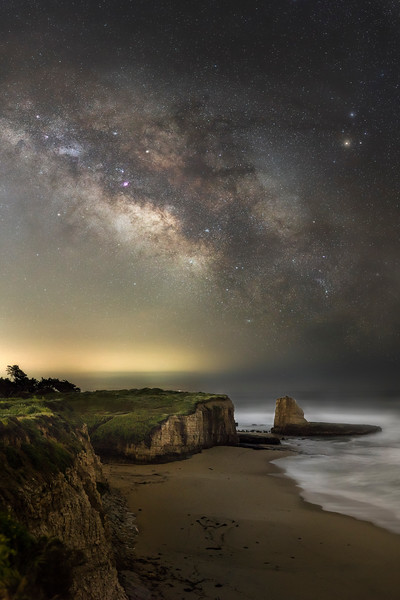 The Milky Way over Three Mile Beach