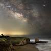 The Milky Way over Three Mile Beach
